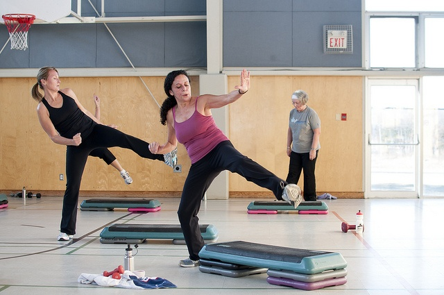 The YMCA of Parry Sound aerobics class will also help you develop better balancing skills