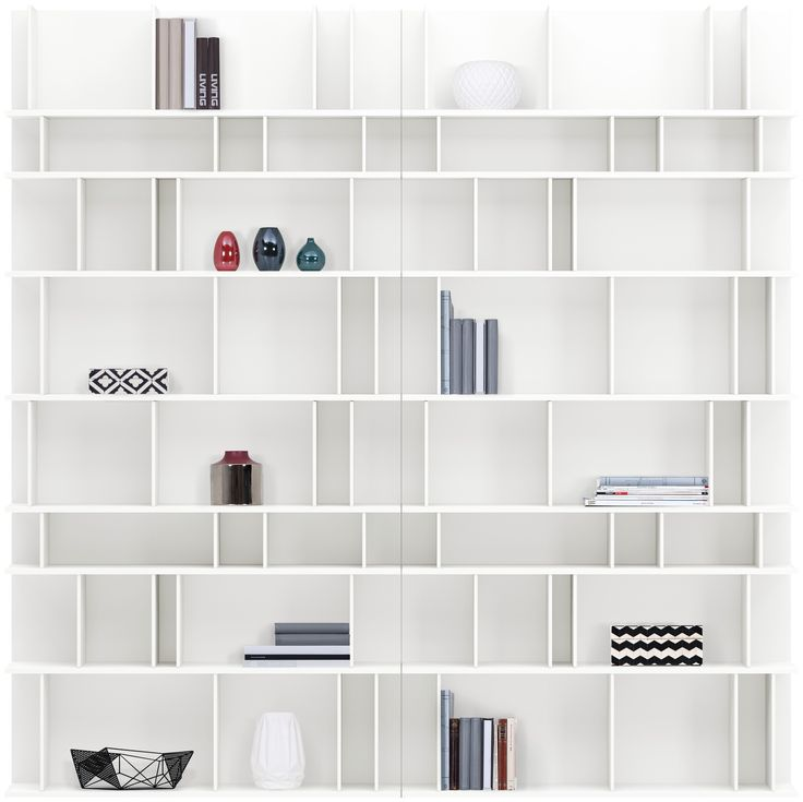 oltre 1000 idee su libreria moderna su pinterest. Black Bedroom Furniture Sets. Home Design Ideas