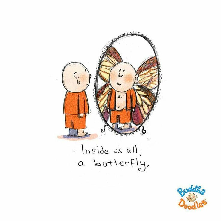 Get your butterfly out