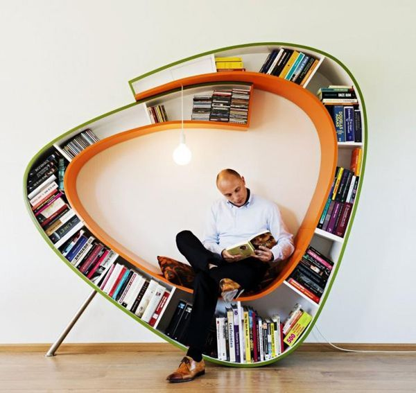 amusing unique bookshelf. Bookworm Bookshelf Doubles As A Place To Read  TreeHugger 18 best Chair Design images on Pinterest Armchairs Chairs and