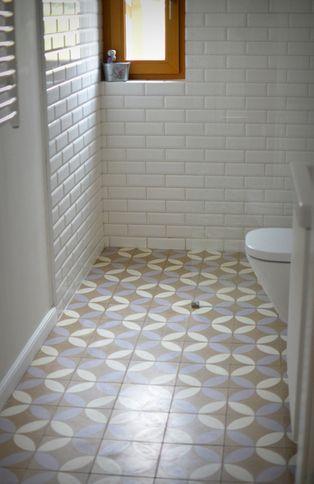 Circles. Tiles: Purpura. #cementtiles