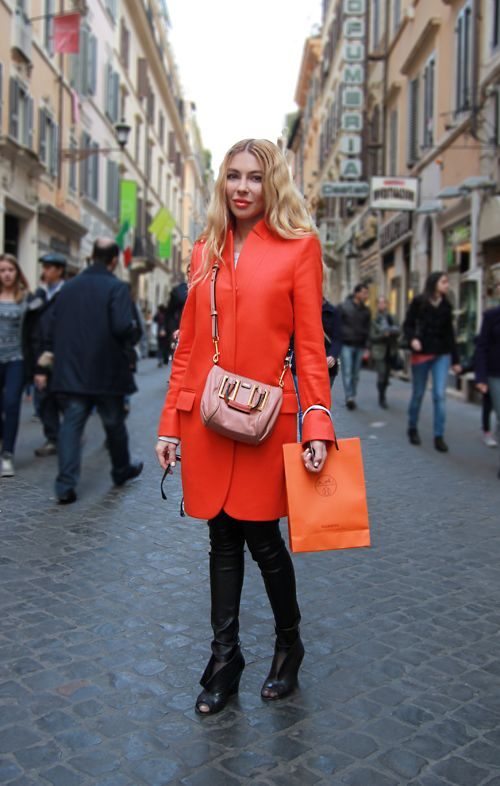 Kristina 39 s rome street style in celine and chloe click Celine fashion street style