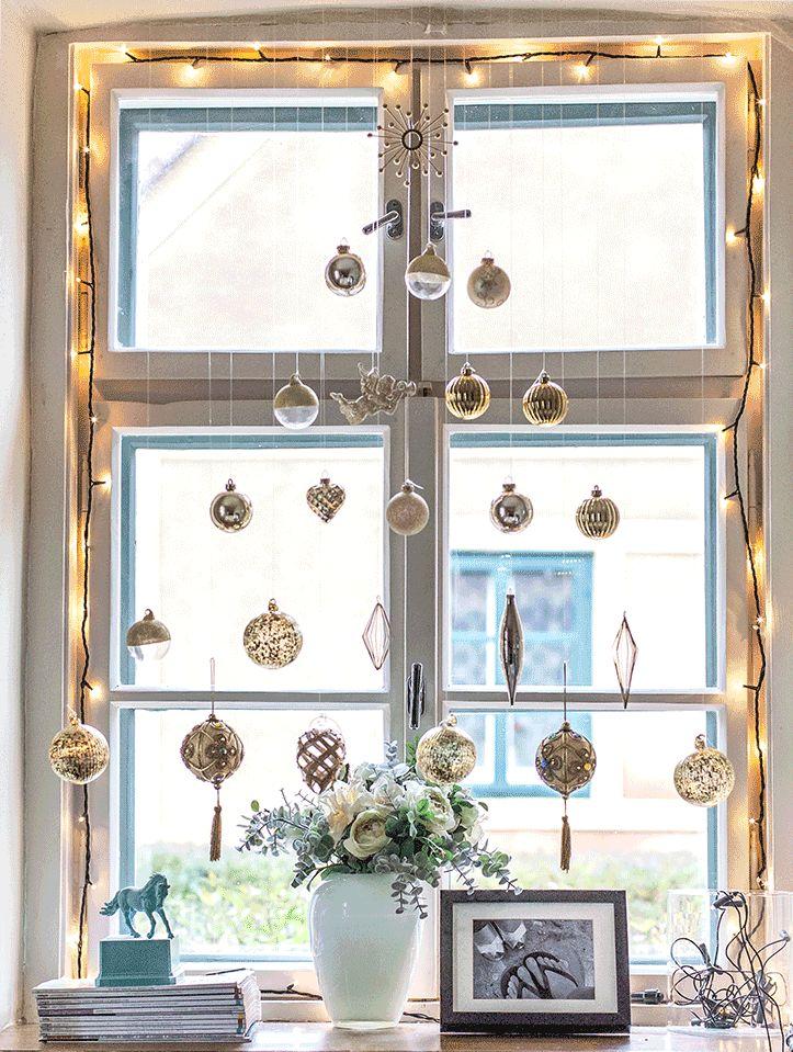 Díszítsd fel az ablakodat egyszerűen Karácsonyra