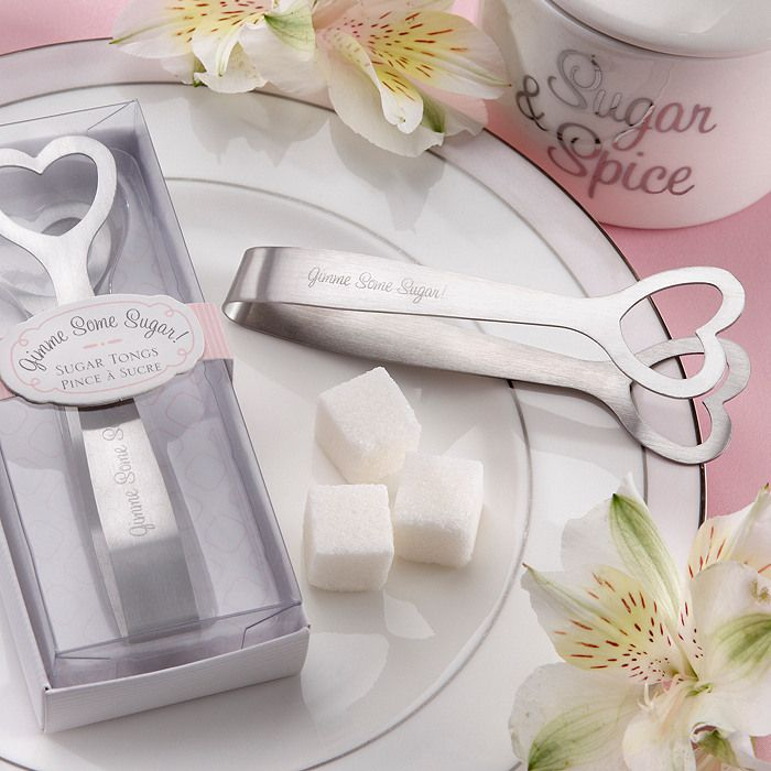 """Gimme Some Sugar"" Sugar Tongs 20PCS/LOT Free shipping+wedding bridal shower favor gift $42.00"