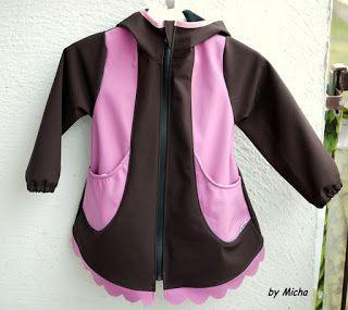 by Micha: Softshellový kabátek