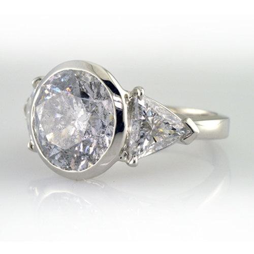 Diamond Engagement Ring with 807 CARAT by GoelTalaDiamondsInc