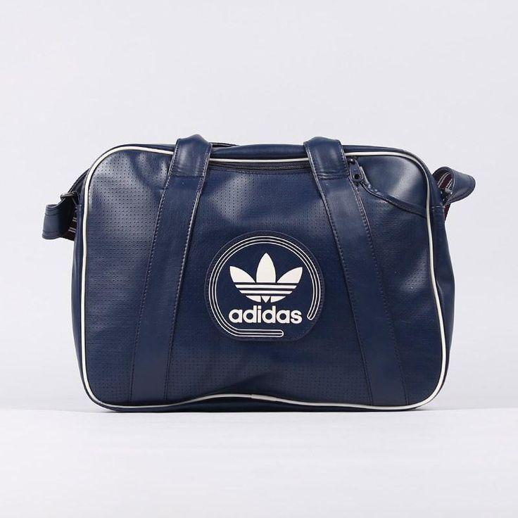 Bolsa Adidas Airliner Perf Azul Marinho