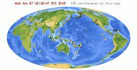 Science Matters: Earthquakes & Plate Tectonics: Plot Earthquake Data