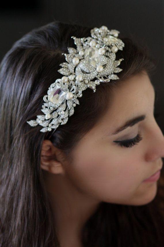 Best 25+ Bridal headbands ideas on Pinterest | Wedding ... - photo #33
