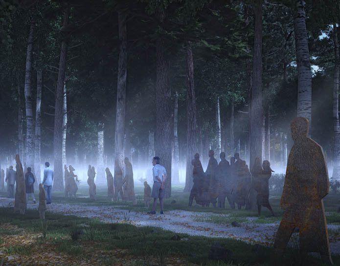 Sobibor, Konkurs na opracowanie nowej ideowo - artystycznej koncepcji architektoniczno - krajobrazowej miejsca pamięci na terenie byłego Niemieckiego Nazistowskiego Obozu Zagłady w Sobiborze