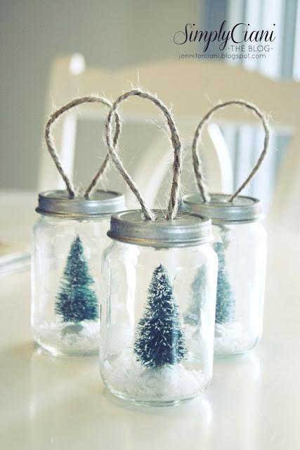Simply Ciani: DIY Baby Food Jar Ornaments