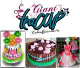 The Giant Teacup - Pretoria makes Home made, freshly baked sweets and savouries. Cream Cheese frosted cupcakes, celebration cakes and The best chocolate brownies, Ouma se melktert, puff pastry sausage rolls and so much more! We also make the ever popular and delicious cake pops.