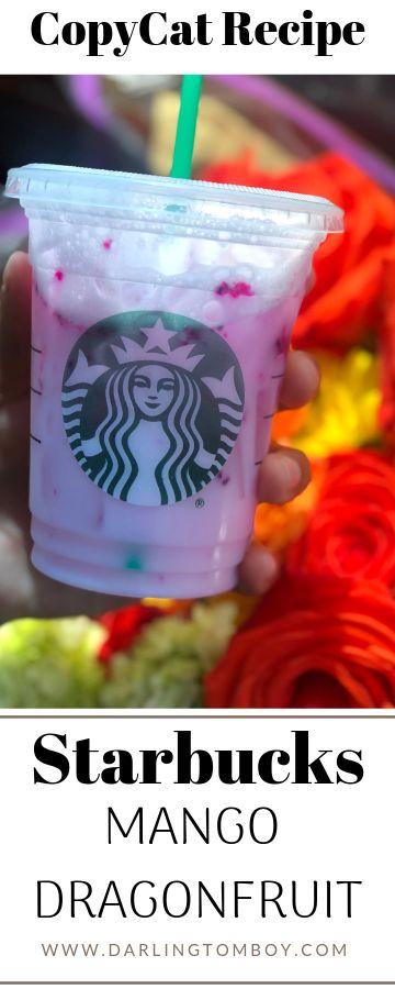 Starbucks Mango Dragonfruit Refresher DIY Copycat   – FOOD Recipes