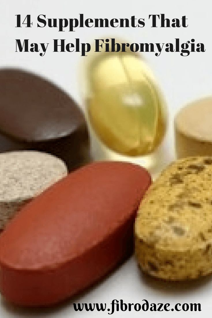 14 Supplements That Help Fibromyalgia
