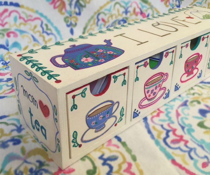 Un favorito personal de mi tienda Etsy https://www.etsy.com/mx/listing/289509283/caja-para-te-tea-box-tea-bag-dispenser