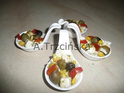 Mini sałatki/ Mini salad