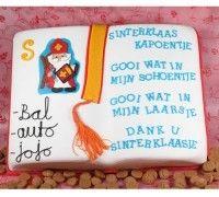 Is het bijna Sinterklaas en wil je wat lekkers maken? Ga dan een middag aan de slag en maak het heerlijk boek van Sinterklaas. Volg de stap voor stap instructies en maak deze taart helemaal zelf. Je maakt de taart met de mix voor biscuit van FunCakes. Trakteer vrienden en familie op een heerlijk stukje van deze Sinterklaas taart.