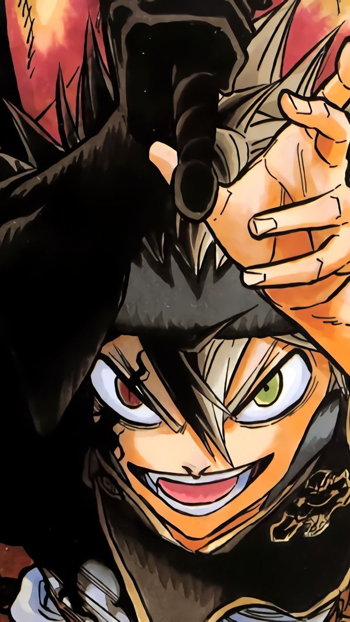 3d Wallpaper Anime Boy doraemon in 2020 Black clover