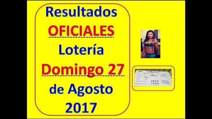 Resultados En Vivo Sorteo Domingo 27 Agosto 2017 Loteria Nacional Panama Numeros Loteria 27 Agosto