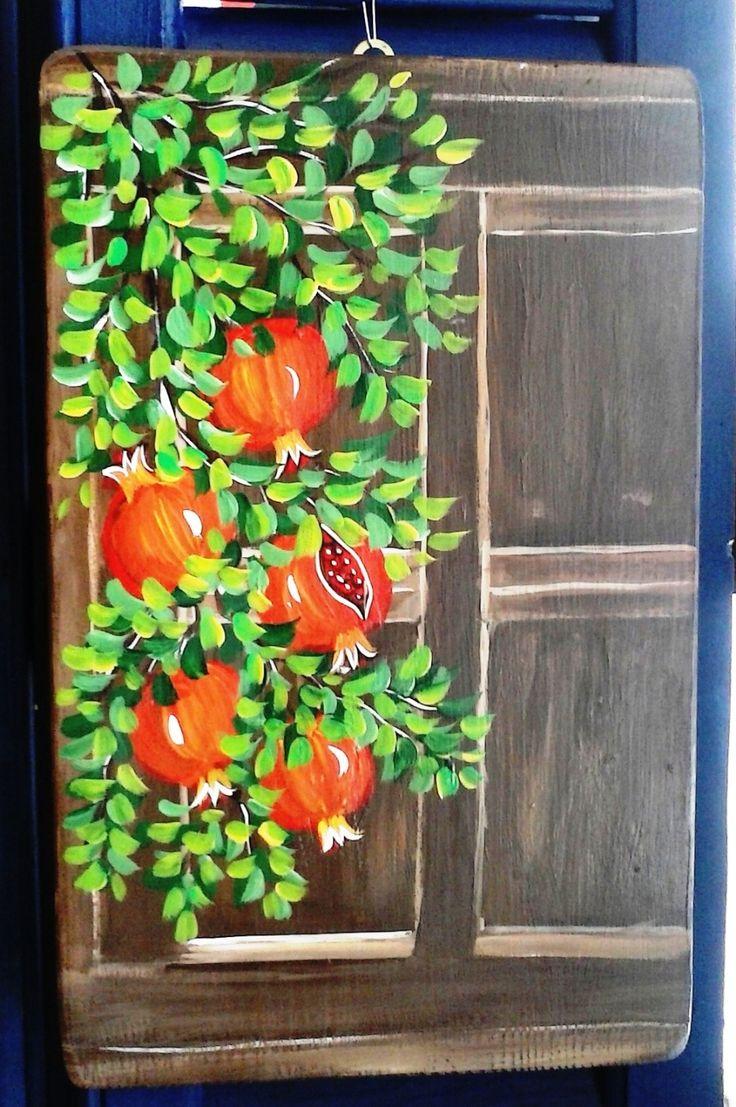 Ζωγραφική σε ξύλο