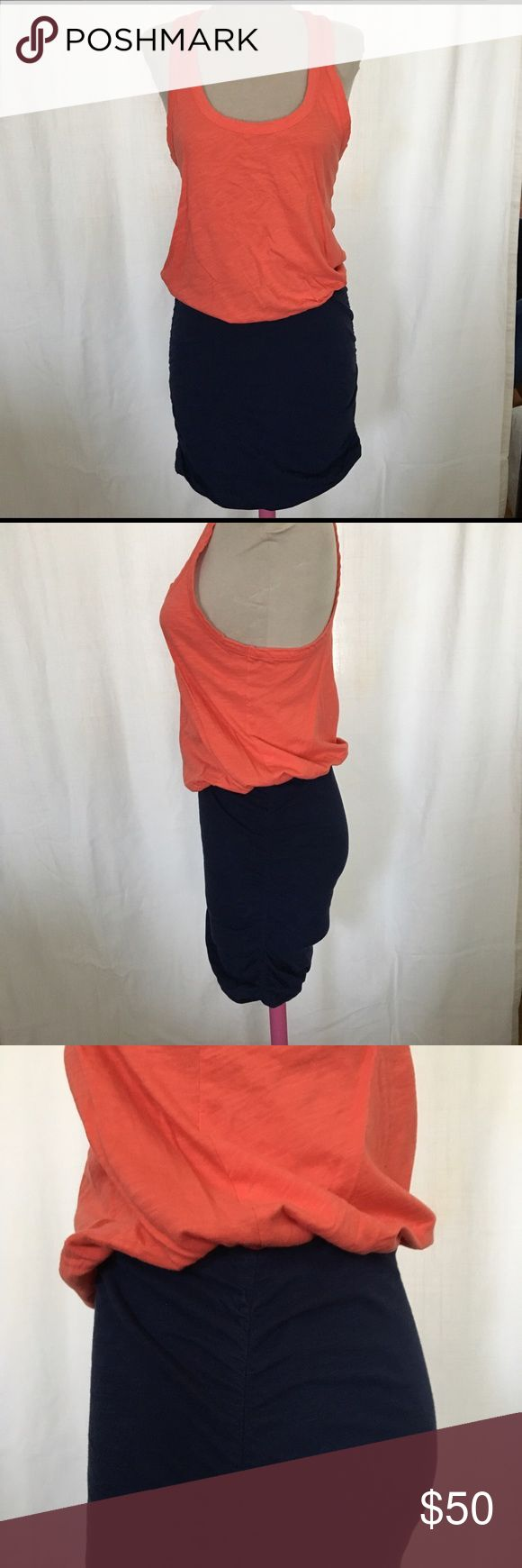 Soft Joie dress Super cute casual dress. Racerback, Tight bottom and loose on top.  Will fit a S or M nicely.  Great condition! Joie Dresses