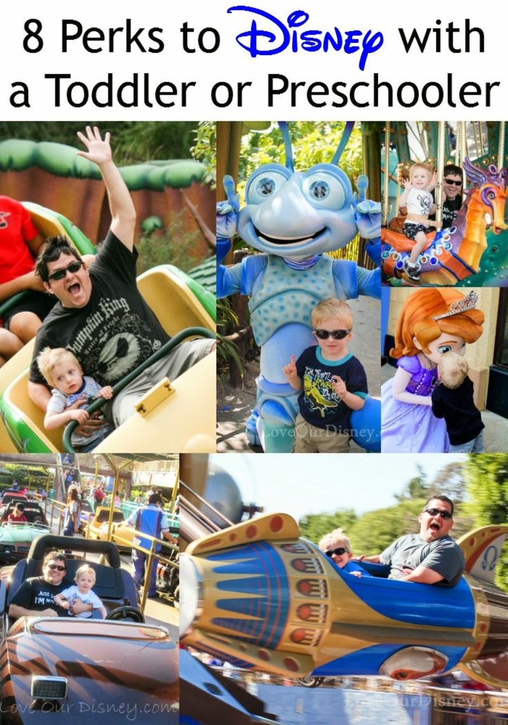 Disney with young children? There are perks to going with kids under 5