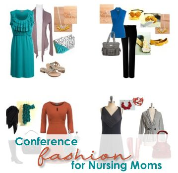 Conference fashion for nursing mom by @Erica Mueller