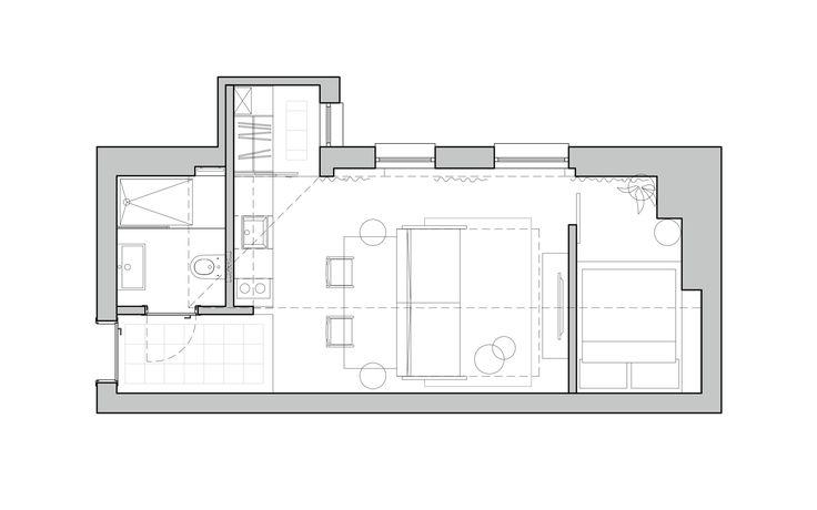 36m² layout