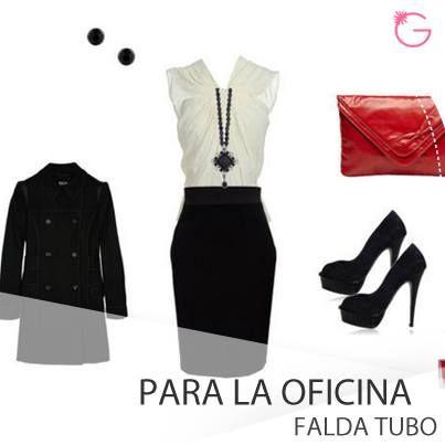 Prendas para la #Oficina: Faldas tubo