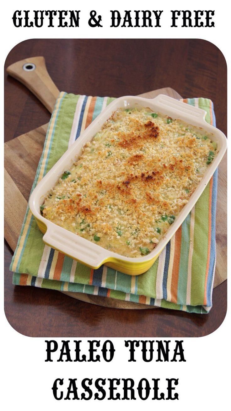 Paleo Tuna Casserole (gluten free & dairy free) | Recipe ...
