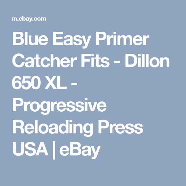 Blue Easy Primer Catcher Fits - Dillon 650 XL - Progressive Reloading Press USA   eBay