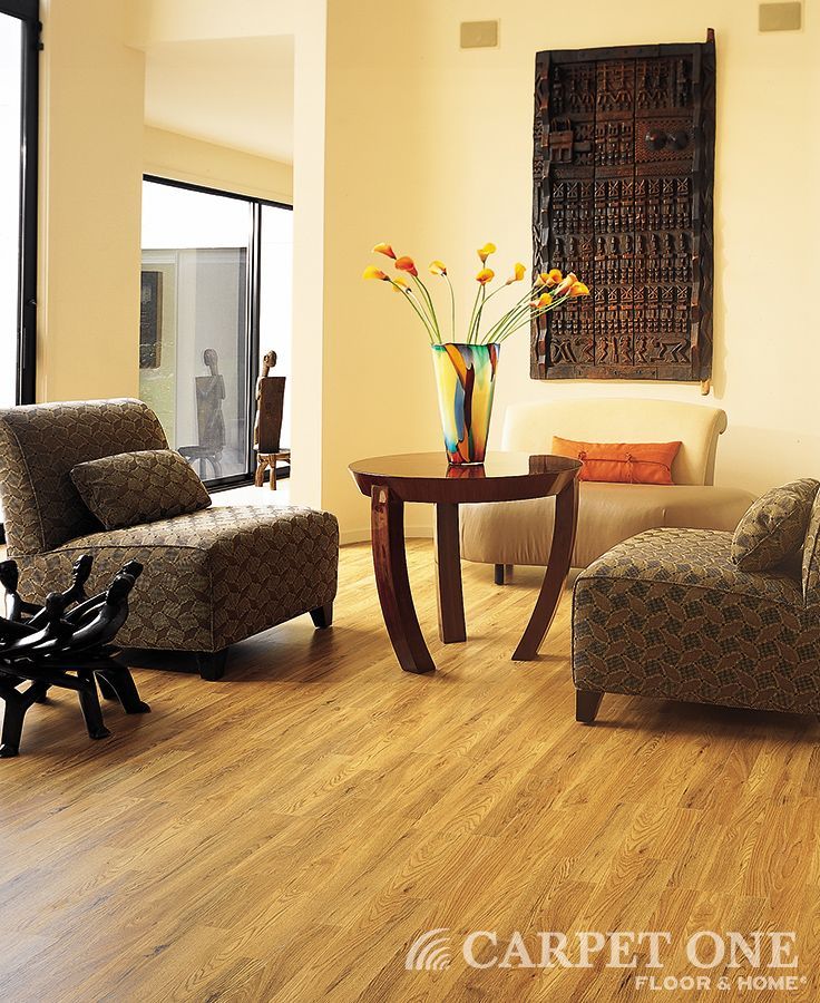 Beautiful and durable laminate flooring from Carpet One