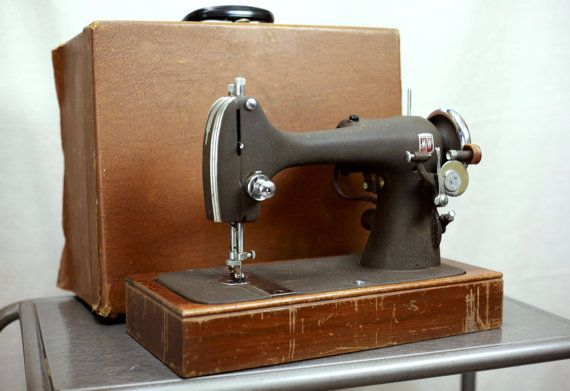 Antique Sewing Machine Montgomery Ward Model by ReImagineUpCycling