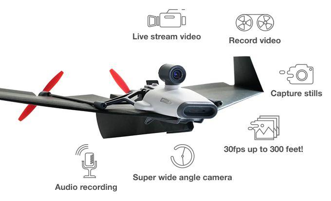 PowerUp FPV - Live Streaming Paper Airplane Drone by Shai Goitein —Kickstarter