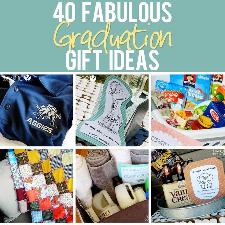 40 Graduation Gift Ideas #gradgifts