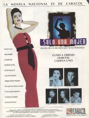 Solo una mujer fue una telenovela de la televisión colombiana realizada por Caracol Televisión para el Canal Uno en 1993. Se trataba de una...