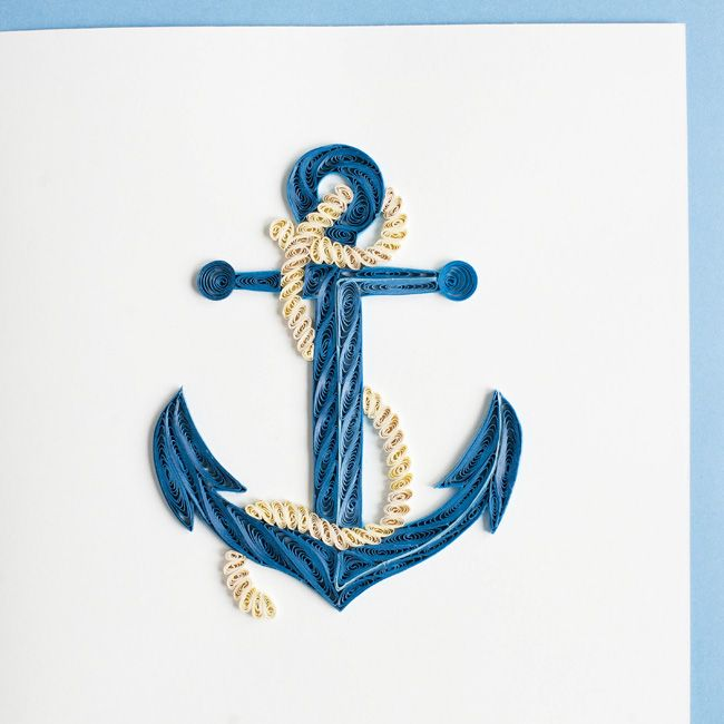 Product Image http://quillingcard.com/products/retail/seashore/anchor