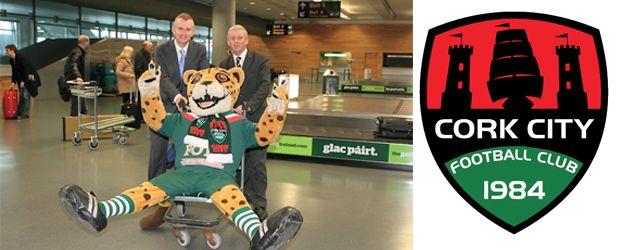 Cork City FC & Cork Airport renew partnership for 2013 season! (Jan 2013)