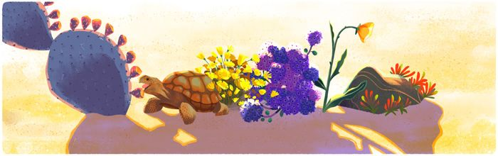 Earth Day 2016 Google Doodle