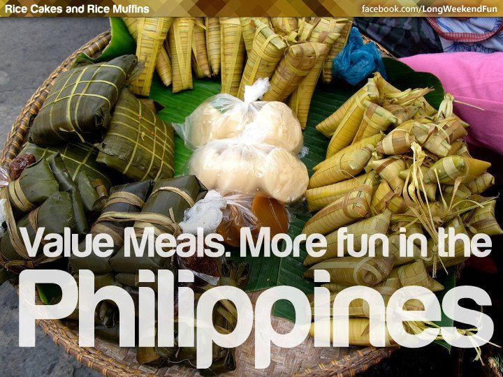 VALUE MEALS. More FUN in the Philippines! http://www.richpinay.com/