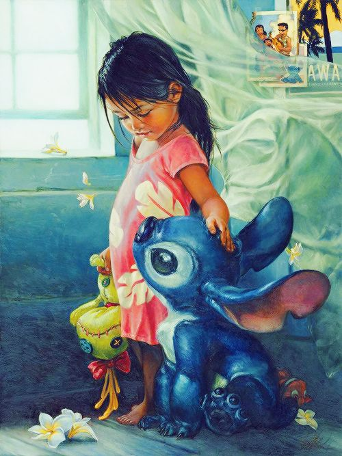 Lilo and Stich by Heather Theurer