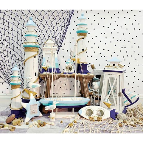 Ships Ahoy! 🌊⛵️🌊 The collection of nautical inspired home décor is now in our @carraigdonn @whitewatersc from just €12.95