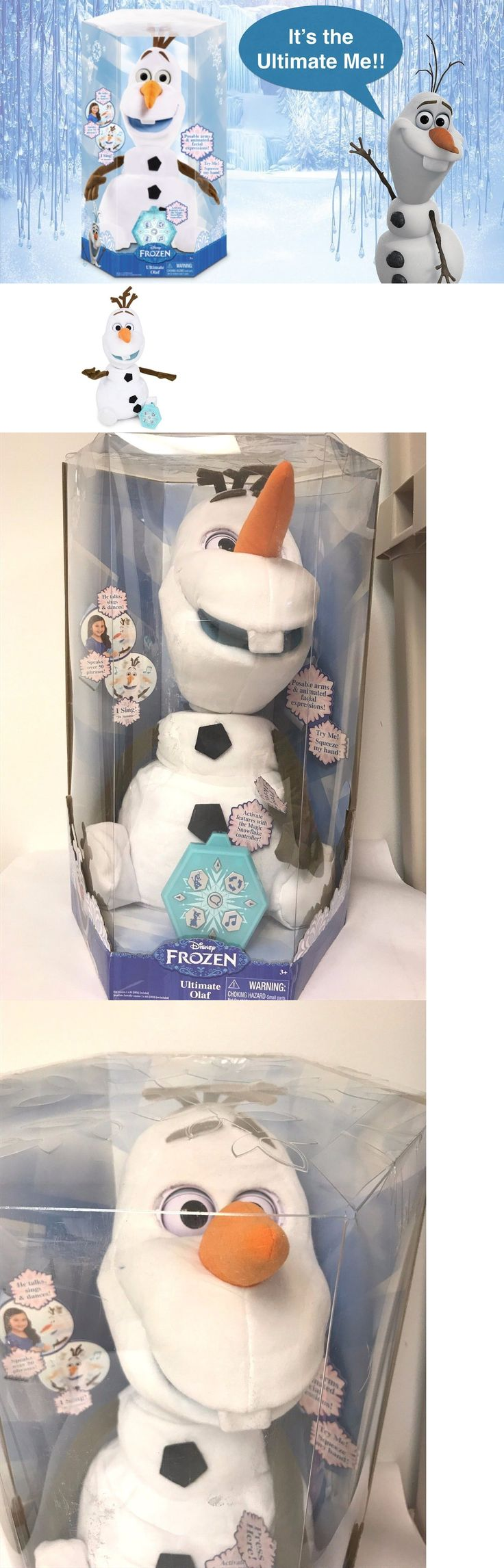Talking Toys 145945: Disney Frozen Ultimate Olaf He Talks, Sings, And Dances! Brand New -> BUY IT NOW ONLY: $34.99 on eBay!