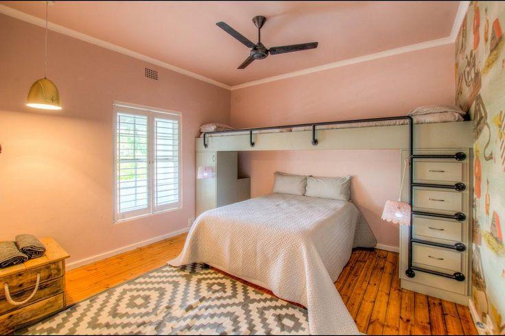 Fun bedroom setup at 12 On Main