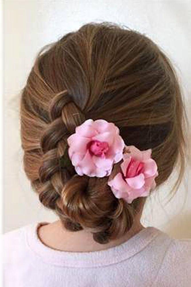 33 Cute Flower Girl Hairstyles 2017 Update Hair Pinterest