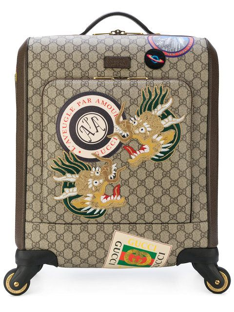 0c5d064c17 Gucci valise Gucci Courrier GG Supreme | bagagerie de luxe | Valise ...