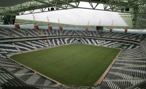 Mbombela Stadium in Nelspruit,South Africa,2010