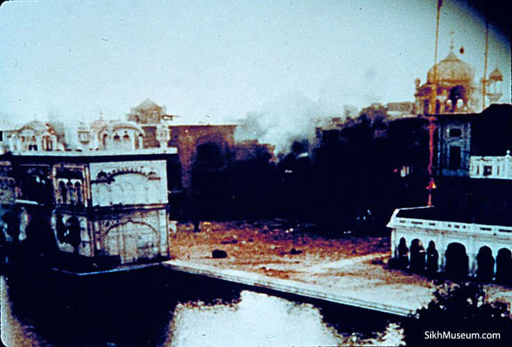 1984: Sikh extremists occupy the Golden Temple at Amhritsar. Prime Minister Indira Gandhi sends in troops June 5-6 in Operation Blue Star and 600-1,200 are killed in a bloody takeover of the temple.