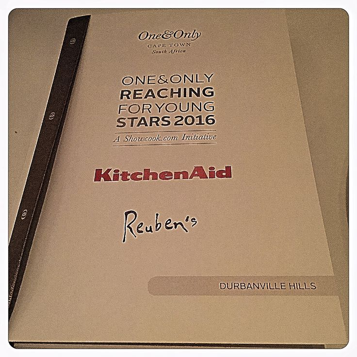 """We are so proud to be part of @showcookcom 's """"2016 One&Only reaching for Young Stars Awards"""". Best of luck to all the young stars being honored now at the @OOCapeTown! #OOYoungStars"""