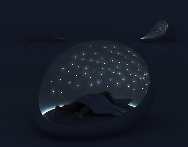 The Cosmos Bed For Relaxation